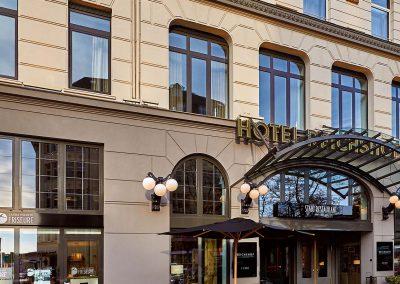 Reichshof Hotel Hamburg Außenansicht / Exterior view