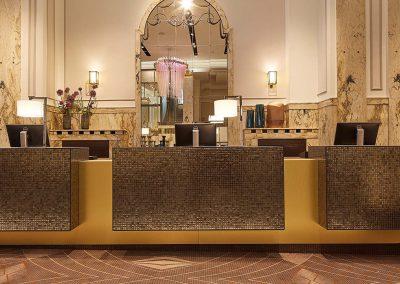 Reichshof Hotel Hamburg Rezeption / Reception