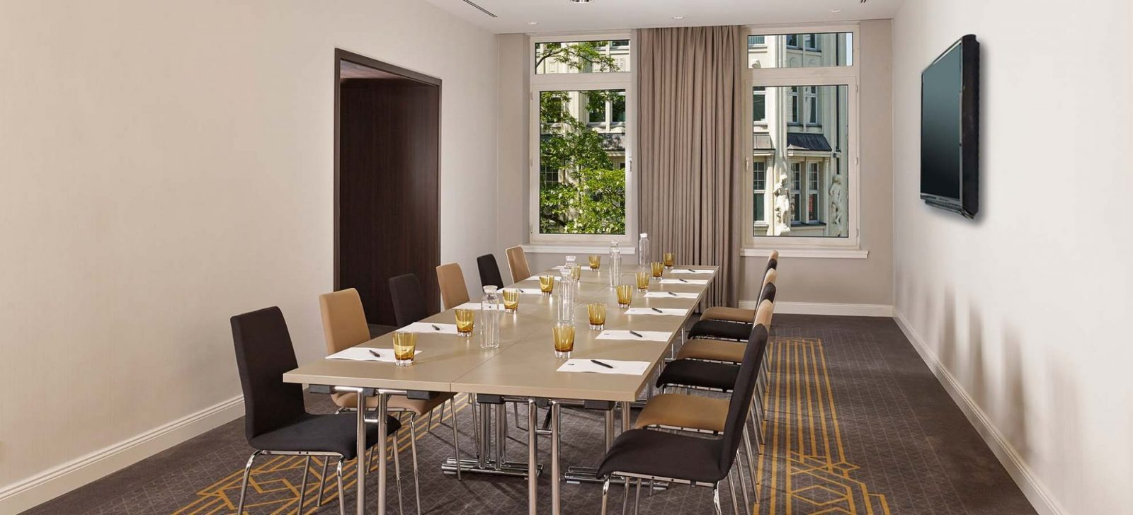 Reichshof Hotel Hamburg Tagungsraum Mandix / Meeting room Mandix